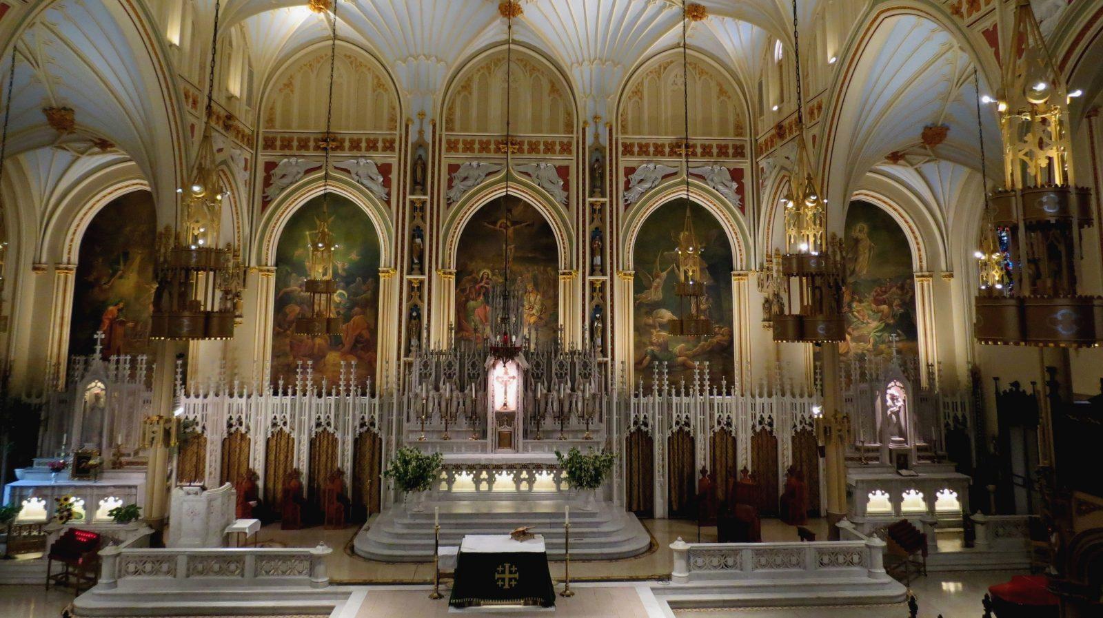Church Painting, church renovation, New York NY