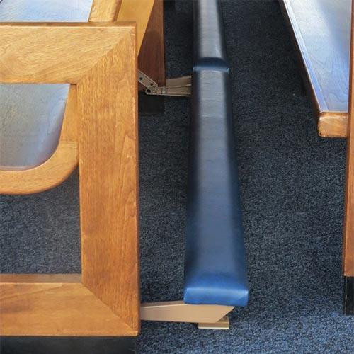 Hamlin Metal Kneelers, replacement metal kneelers, metal kneelers, Groton Ct