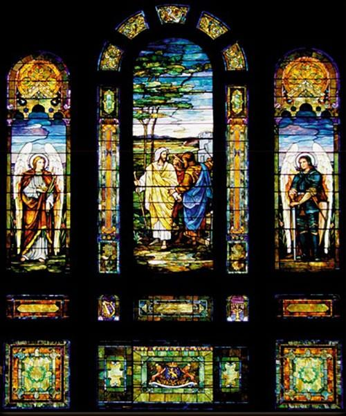 Tiffany Stained Glass Window Preservation