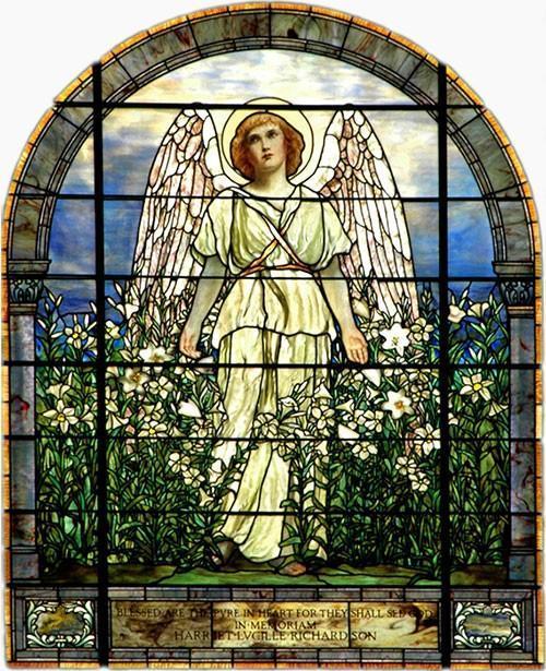Tiffany Stained Glass Window Restoration