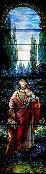 Tiffany Stained Glass Window Repair