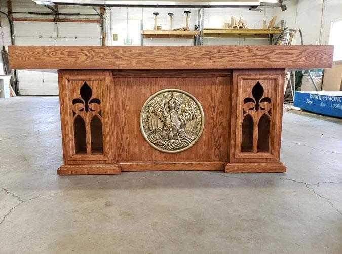 church furniture, chancel furniture, sanctuary furniture, Altars