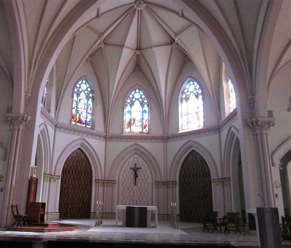 Church Painting & Restoration - St Joseph's Cathedral
