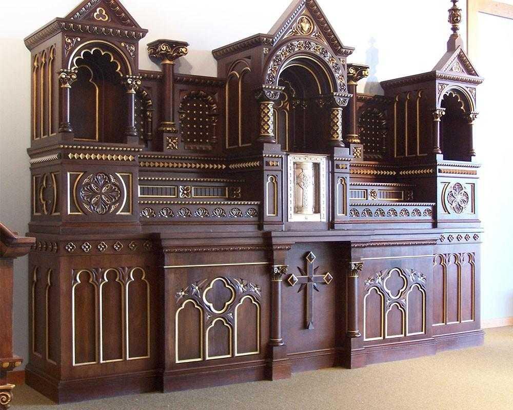 Church Altar Refinishing - New York