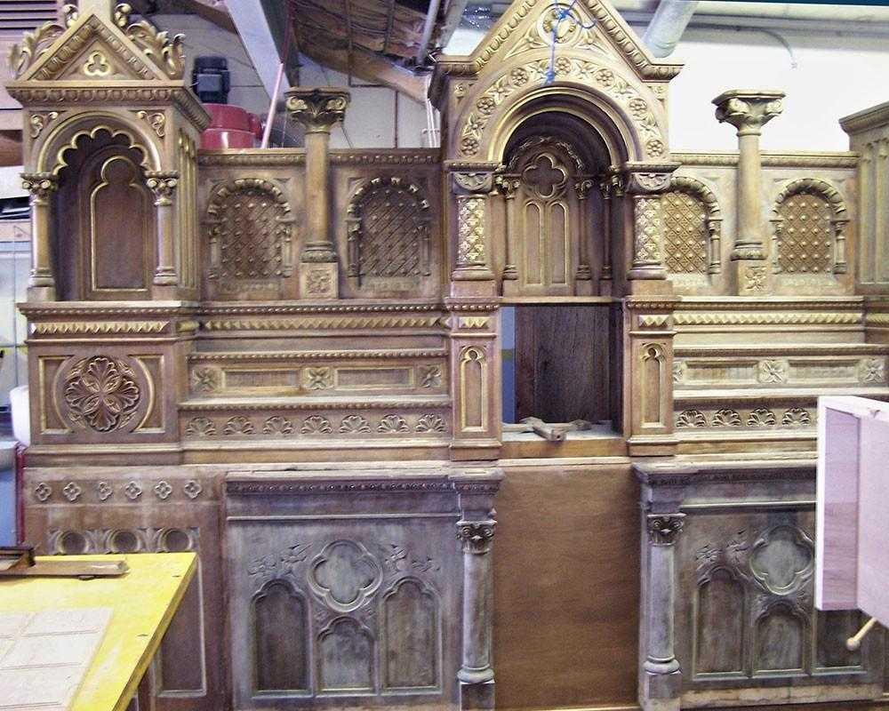 Wood Altar Restoration - Massachusetts