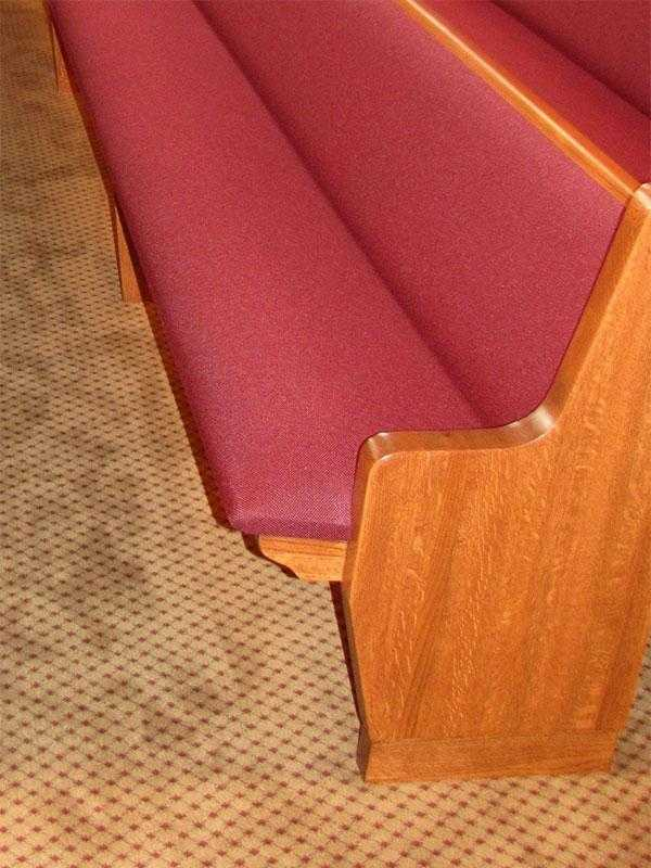 Church Pew Cushions - Massachusetts