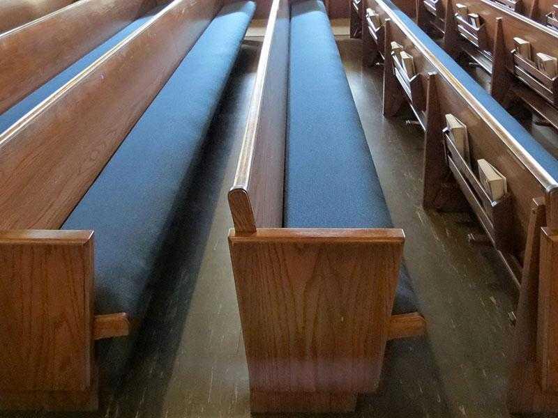 New Church Pew Cushions - New York, Rhode Island