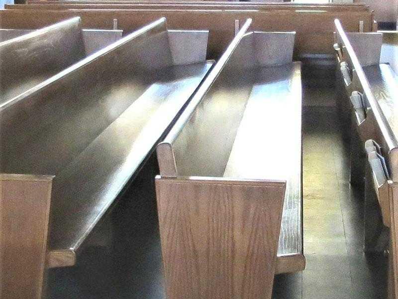 Church Pew Cushions- New York, Rhode Island