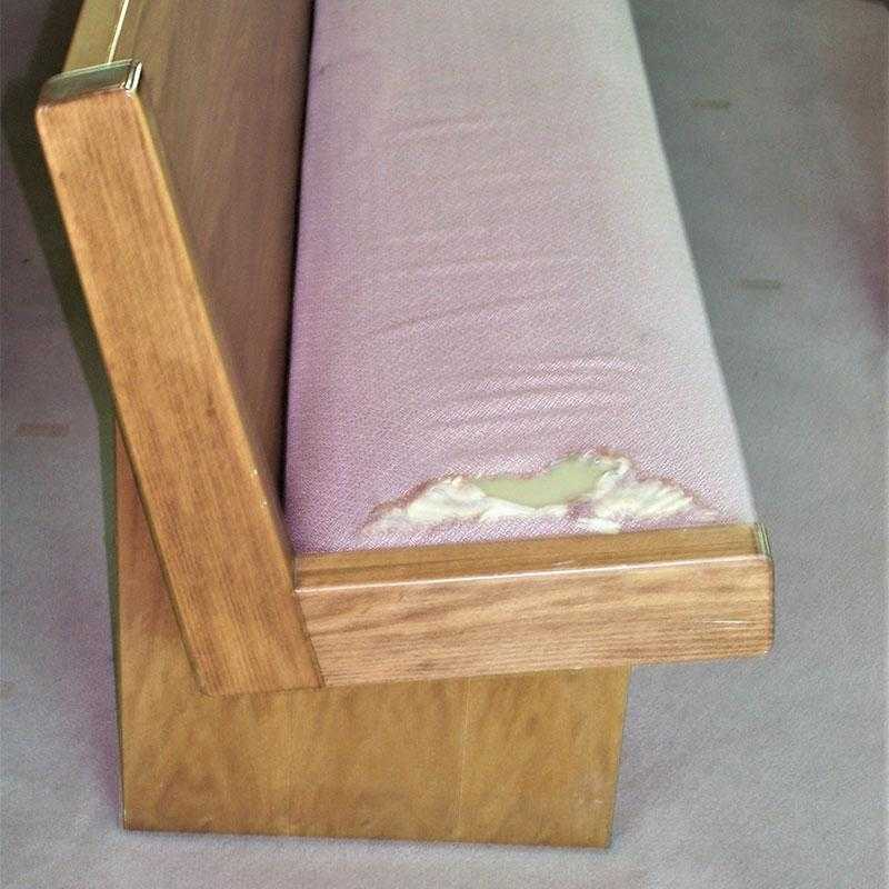 Church Pew Cushion Upholstery - New York