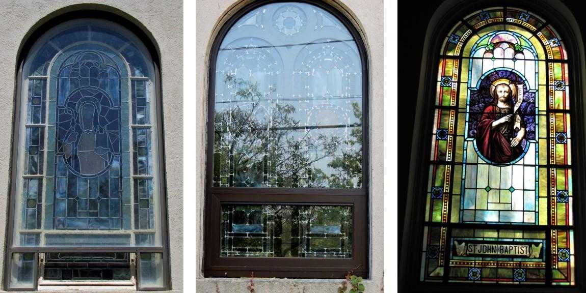Stained Glass Window Frames