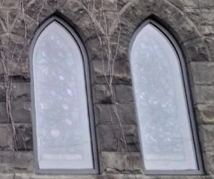 Stained Glass Protective Coverings with insulated glass