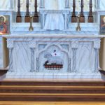 Faux marble painting, church painting, decorative painting