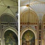Decorative church painting, church painting, church renovation, New York NY