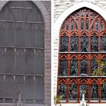 Stained glass window frame repair, church stained glass windwos, New York NY