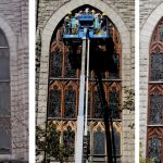 Stained Glass window frame repair, stained glass windows, stained glass window frames, stained glass protective glass, New York NY