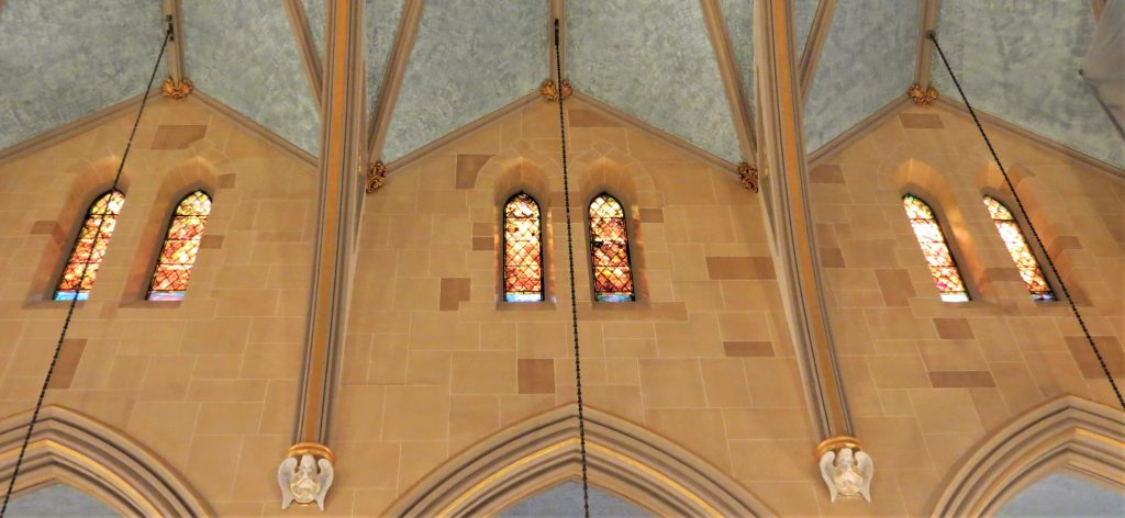 church painting, faux finishes
