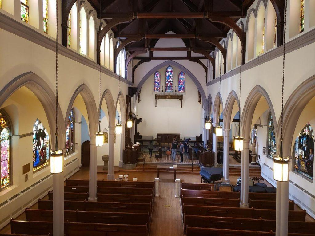 church painters| church painting| plaster repair| church renovation| New York NY