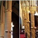 church painting, church painter, faux marble painting, faux marble finishes, Middletown Ct