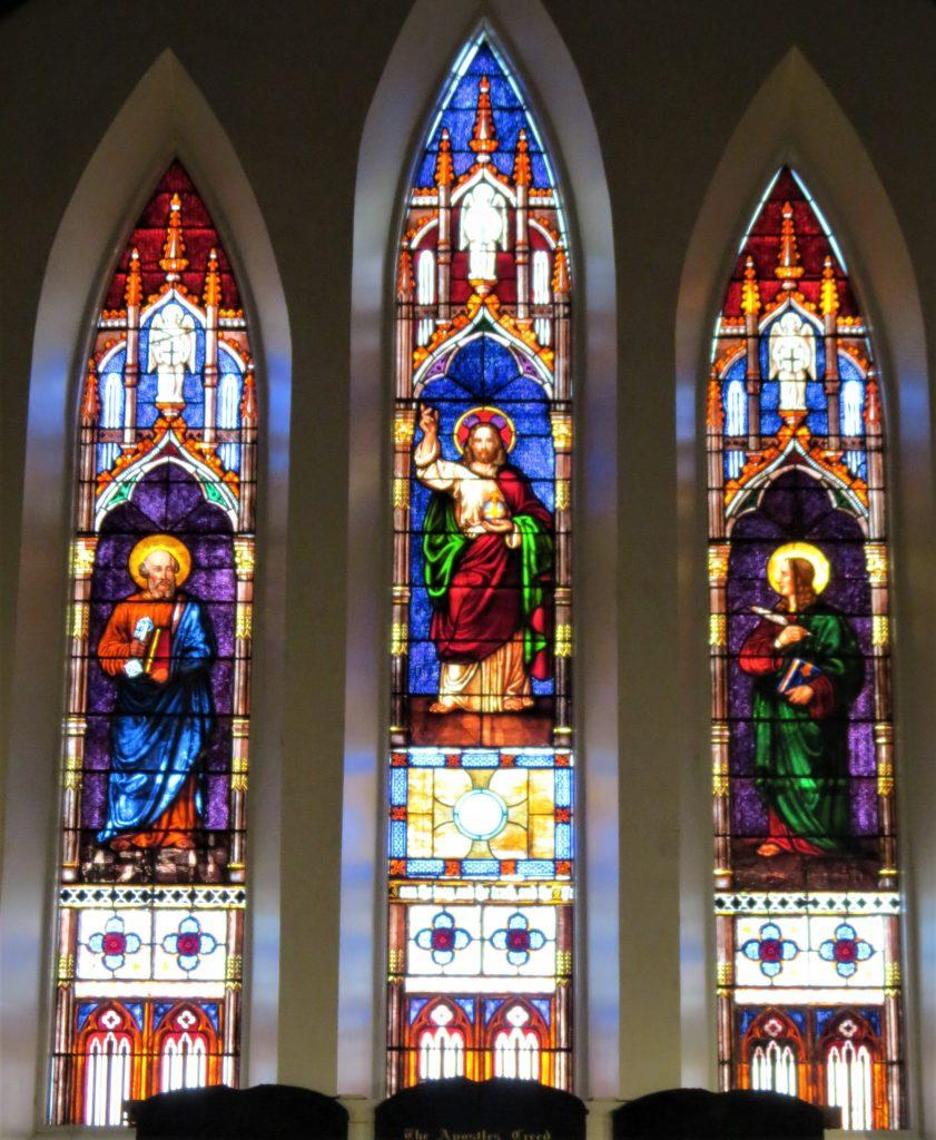stained glass window repair, stained glass window frame repair, stained glass studio