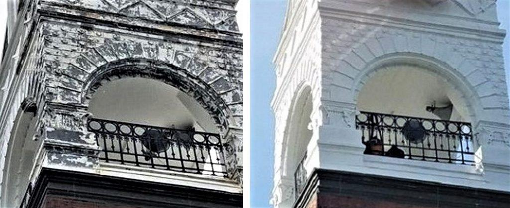 exterior painting, church painter, church painting, steeple painting, steeple repair, Fall River MA
