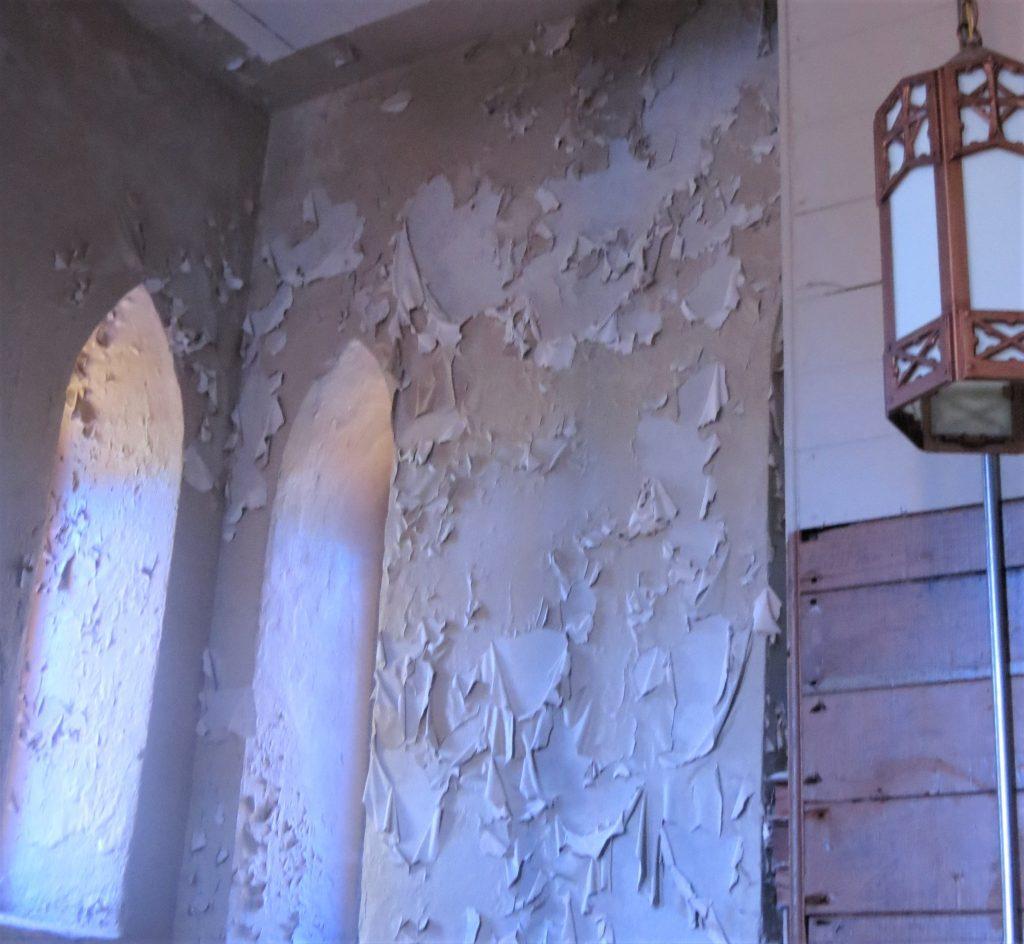 plaster repair, church painting, church painter, Rhode Island painter, Rhode Island painting contractor