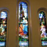 stained glass windows, stained glass window protective coverings, Ithaca NY