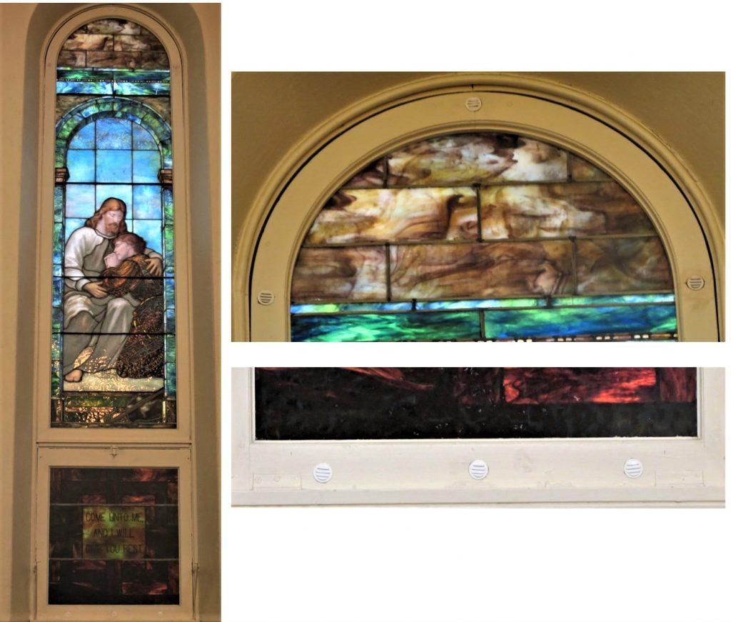 First Unitarian Church. Ithaca NY Internal Vents