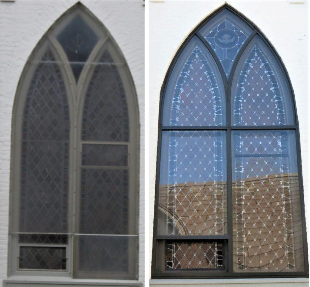 St John Episcopal Ithaca NY Before and After