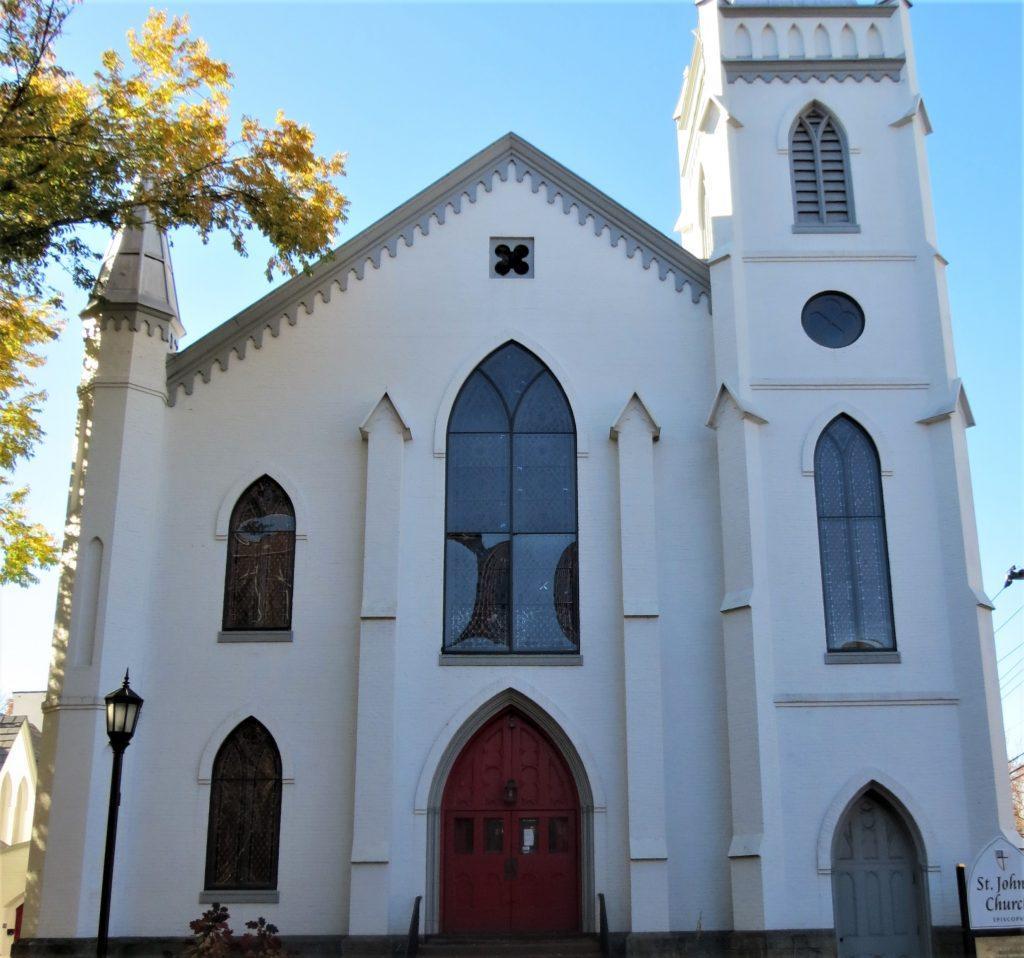 St Johns Episcopal Church. Ithaca NY