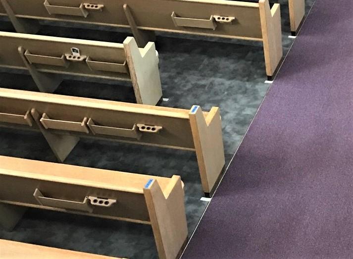 flooring, church flooring, vinyl flooring