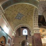 plaster repair, church painter, church painting, stencil pattern painting, Providence RI
