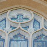 church stained glass windows, stained glass window protective glass, stained glass window repair, New London CT