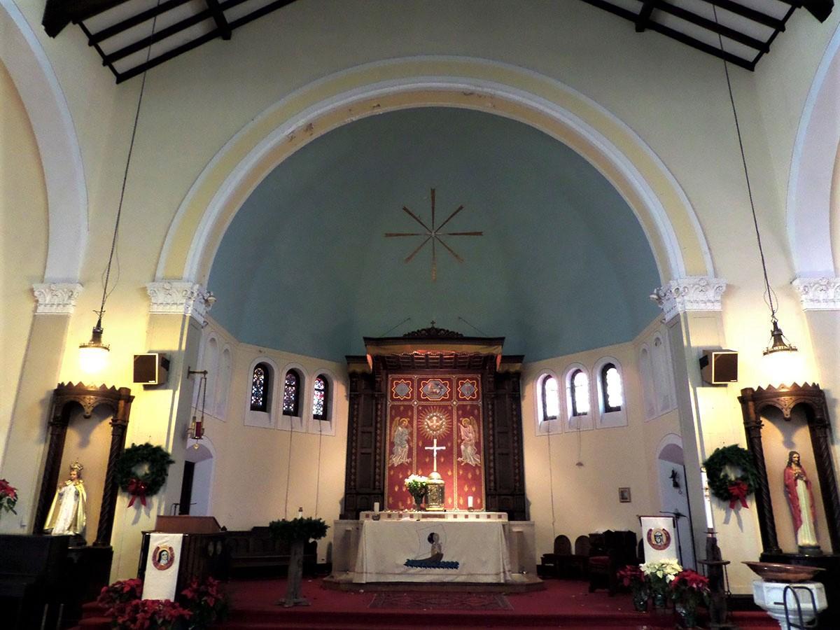 St Ignatius Church. Before