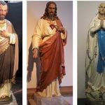 religious figures, church statues, staue painting, statue repainting, Queens NY