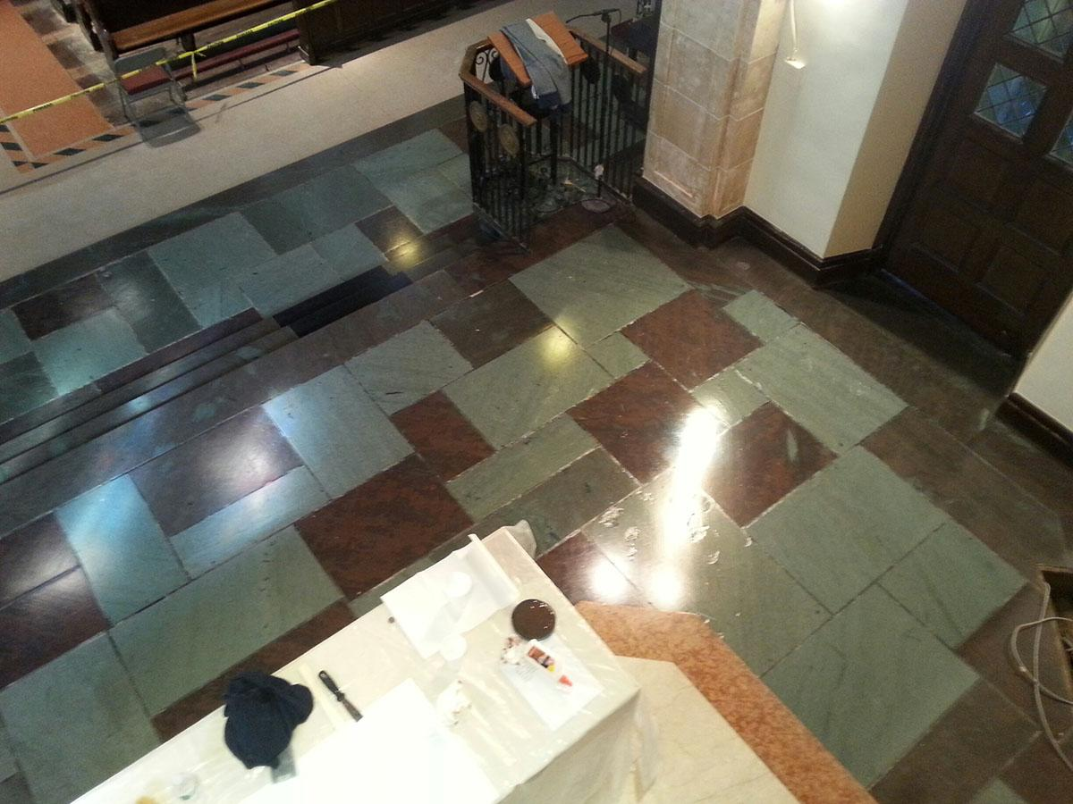 marble floor re-surfacing, New Rochelle NY