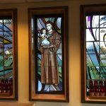 new stained glass design, new stained glass, church stained glass windows, Brooklyn, NY