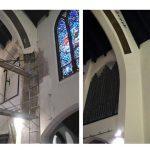 church plaster repair, church painter, plaster repair, church renovation, New York NY