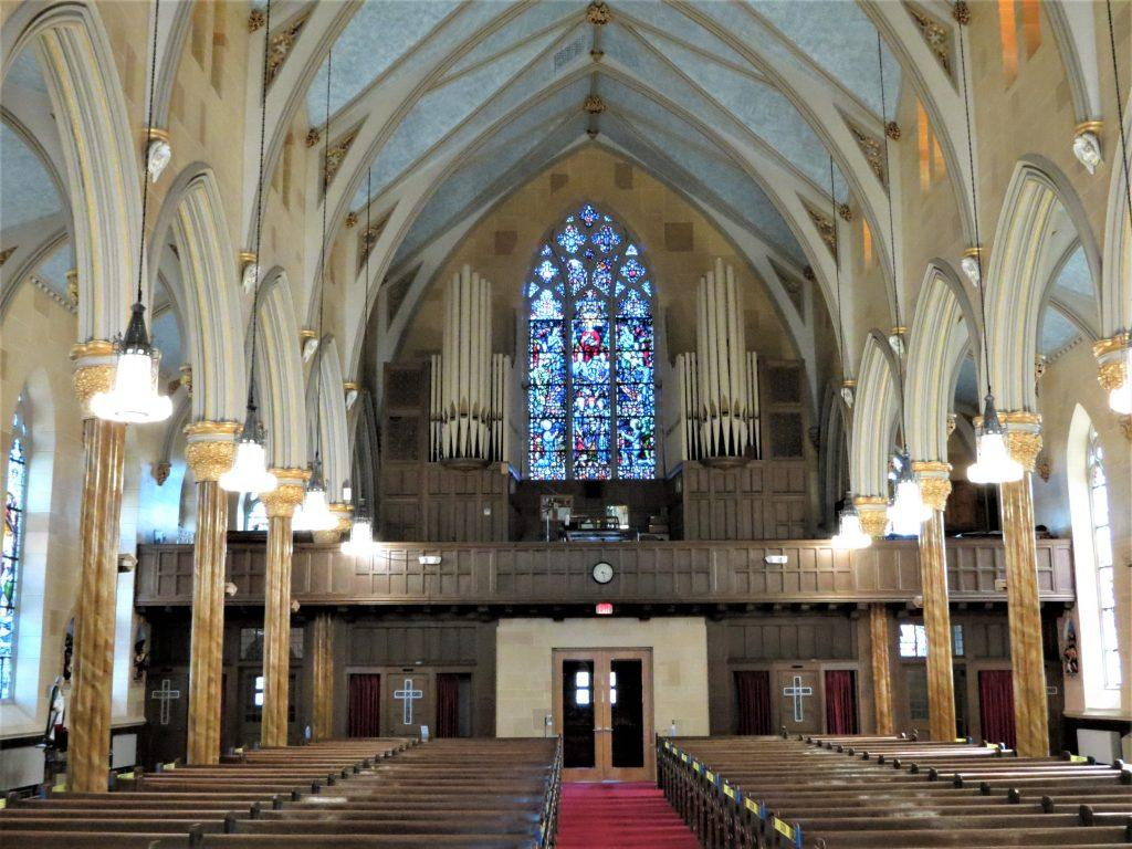 faux stone painting, church painter, church painting, Middletown CT