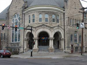 church stained glass window repair, stained glass window restorations, stained glass window frames, Ithaca NY