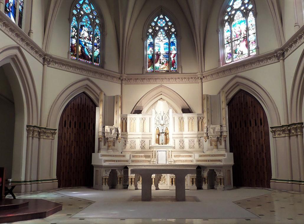 church renovation, church painting, church restorationn