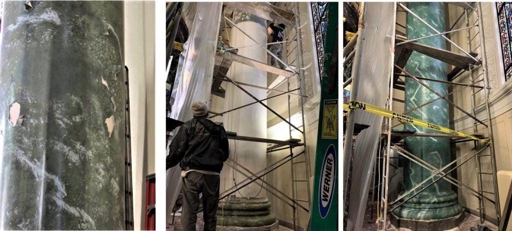 church painting, church plaster repair, church painter, plaster repair near me,