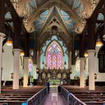 church painting services, church painting contractor, church painter near me.