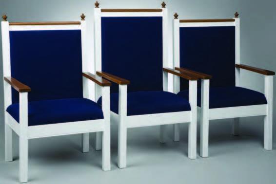 church chairs, clergy  chairs, church furniture
