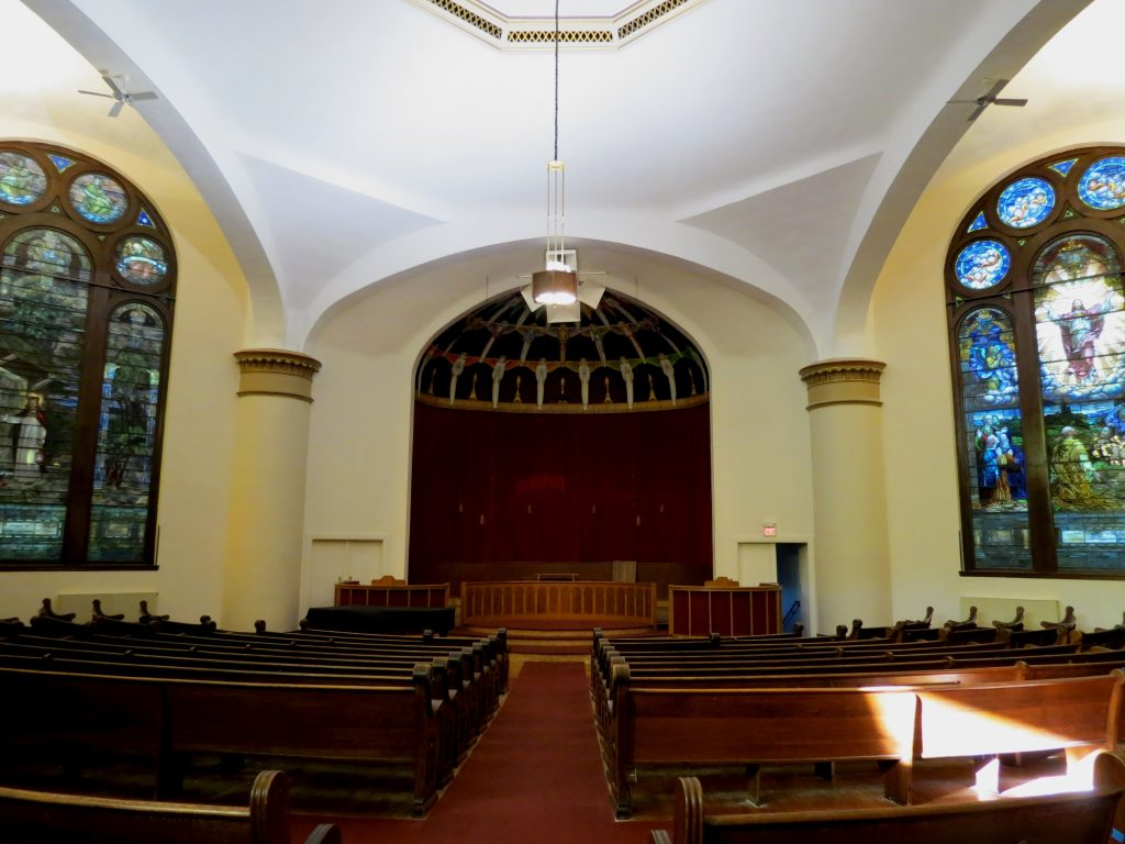 church painting, church plaster repair, church renovation