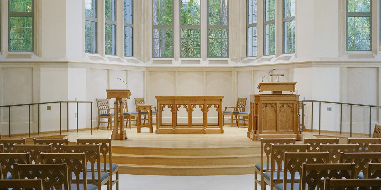 church furniture, chancel furniture, pulpits, pews, wood chairs, Baltimore MD